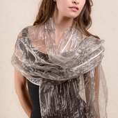 Nalini Chrome Silk Scarf