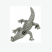Pewter Alligator