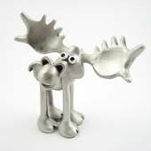 Pewter Moose