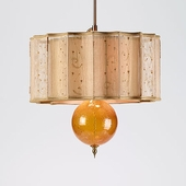 Silk/Glass Pendant Lamps