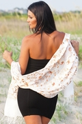 Vanita Embroidered Wool Shawl