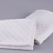 Organic Cotton Sateen Check Sheet Set<br><font color=b2222>Special Introductory Pricing</font>