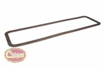 11) Gasket, engine tappet cover, L -134, 1945-53 Willys Jeep CJ-2A, CJ-3A