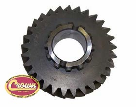 13) Output shaft gear for 1972-79 Jeeps with model 20 transfer case, (mark 18-8-24 or 18-8-64) 29 teeth count