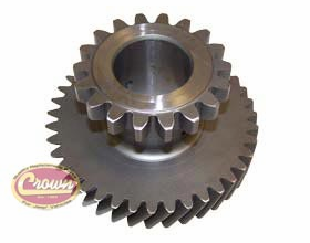 16) Intermediate gear for 1972-79 Jeeps with model 20 transfer case, (mark 18-5-9) 39-18 teeth count