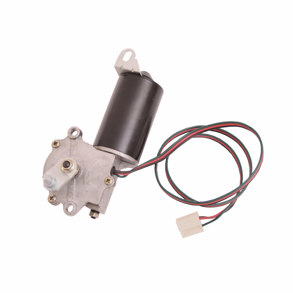 Crown [ 5453956 ] Windshield wiper motor w/ 3 wire plug, 1976-83 Jeep CJ