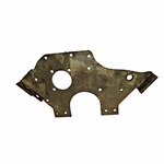 22) Plate, engine mounting, 1945-49 Willys Jeep CJ-2A