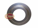 29) Front bearing retainer washer, 1967-75 Jeep CJ-5, CJ-6 with T-14 transmission