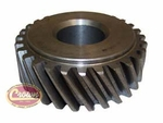 31) Gear, crankshaft, F-134 Hurricane, 1953-71 Willys Jeep CJ-3B, CJ-5, CJ-6