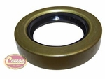 8) Oil seal, output shaft, front and rear, use with Dana Spicer 18 transfer case