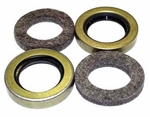8a) Oil seal kit, output shaft. ( 2 seals, 2 felts ), use with Dana Spicer 18 transfer case