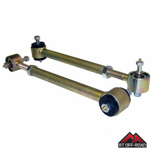 Adjustable Rear Upper Control Arms, 1997-2006 Jeep Wrangler TJ  by RT Off-Road