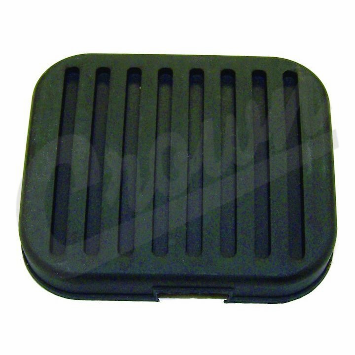 Crown [ 948758 ] Clutch Pedal Rubber Cover, fits 1957-81 Jeep CJ Models