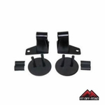 Black Mirror Relocation Brackets, 2007-2015 Jeep Wrangler JK by RT Off-Road