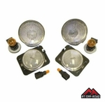 Clear Marker & Turn Signal Lens Kit, 2007-2015 Jeep Wrangler JK by RT Off-Road
