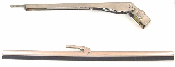 Crown [ WSHA-1K ] Electric windshield wiper arm & blade kit, fits 1945-68 CJ-2A, CJ-3A, CJ-3B, CJ-5 and CJ-6