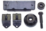 Engine Mount Kit, fits 1945-71 Jeep CJ with 4-134 Engine
