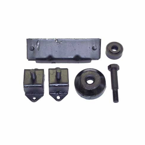 Crown [ 638629K ] Engine Mount Kit, fits 1945-71 Jeep CJ with 4-134 Engine