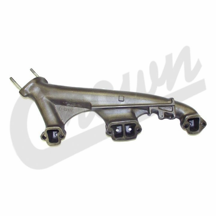 Crown [ 8121274 ] Exhaust Manifold, Right Side, 1972-81 Jeep CJ w/ 5.0L 304 engine