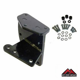 Extreme Heavy Duty Steering Box Bracket, 1976-1986 Jeep CJ5, CJ7 & CJ8 by RT Off-Road