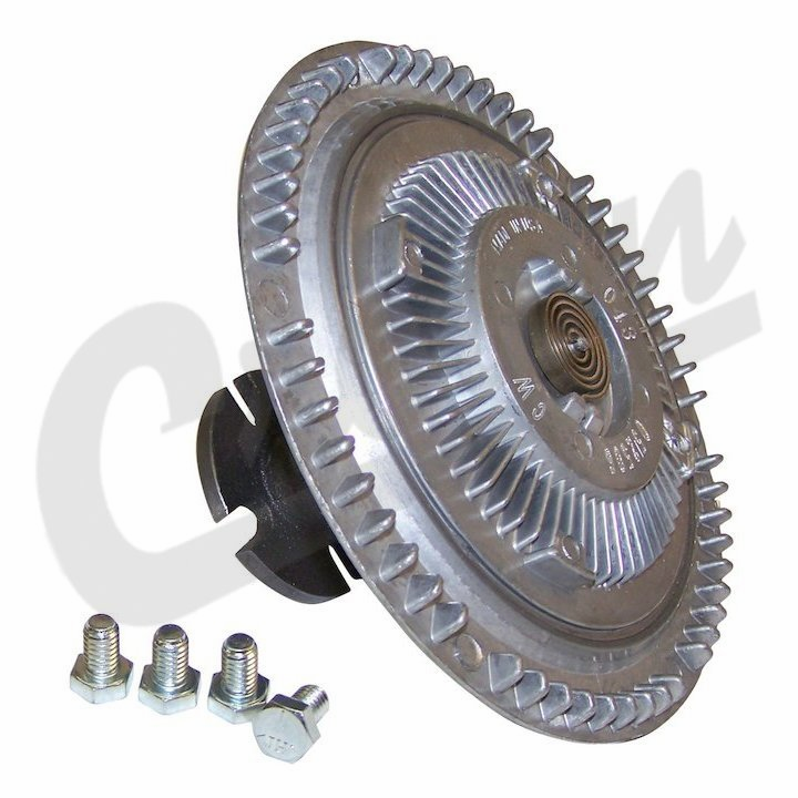 Fan Clutch, fits 1982-83 Jeep CJ with GM 2.5l 4 cylinder engine with heavy duty cooling �