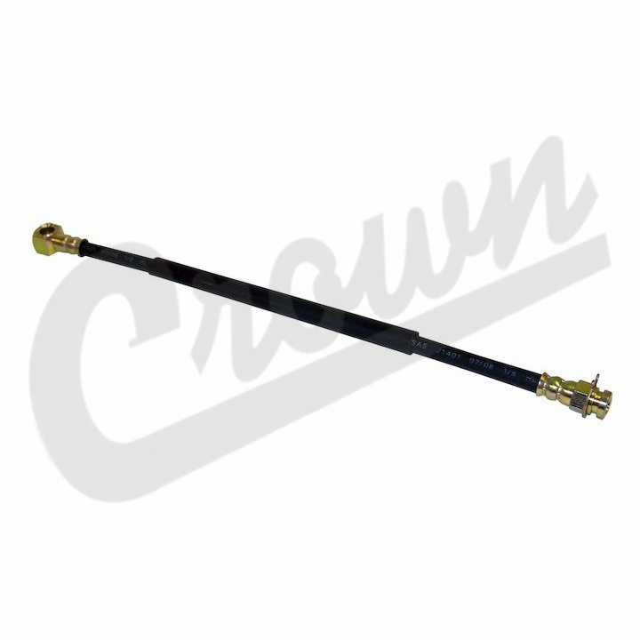 Front Brake Hose to Caliper, 1978-81 Jeep CJ-5, CJ-7, CJ-8 with disc brakes, left or right side
