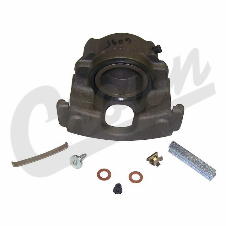 Front Right Disc Brake Caliper, 1977-78 Jeep CJ-5, CJ-7, without Pads