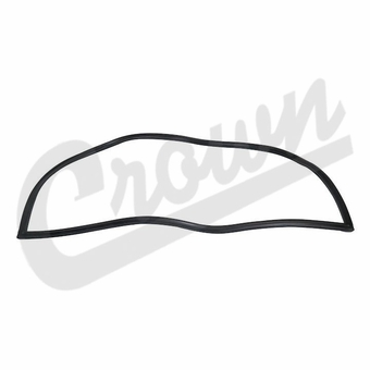 Crown Hardtop Liftgate Glass Weatherstrip Seal for 1977-1986 Jeep CJ-7 Models