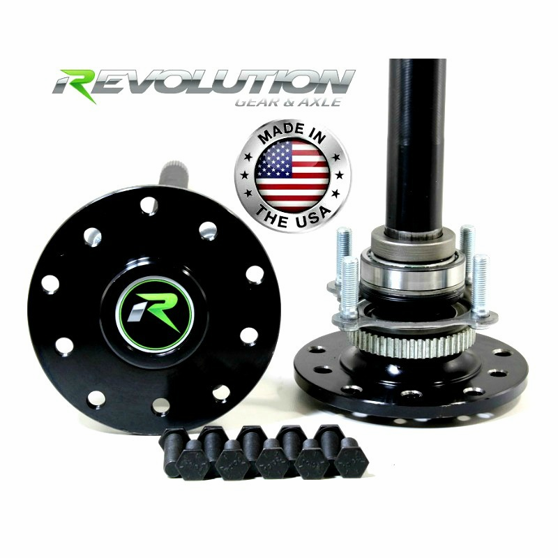 Jeep Dana 44 US Made Rear Axle Kit, 03-06 Jeep TJ & LJ Rubicon & Non W/Disc Brakes, 30 Spline
