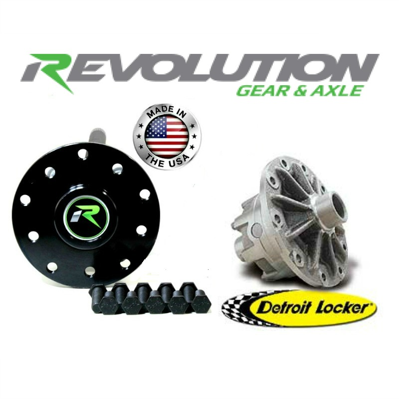 RAK44-33DL Revolution Gear & Axle Jeep Dana 44 US Made Rear