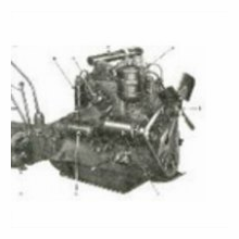Jeep L-134 4 Cylinder Engine Parts