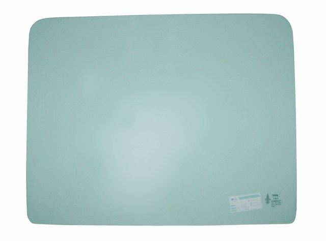 Jeep replacement door glass, left or right side, fits 1968-75 Jeep CJ-5 & CJ-6 replacement glass