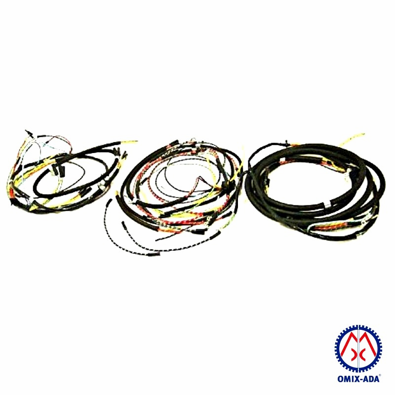 OMIX [ 641949T ] Jeep Wiring Harness, Horn on Firewall with Turn Signals, fits 1945-46 Jeep CJ-2A