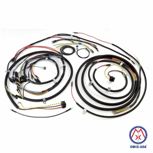 645743t jeep wiring harness with turn signals fits 1949. Black Bedroom Furniture Sets. Home Design Ideas