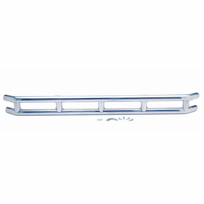 "Kentrol  [ 30457 ] 3"" Double Tube Front Bumper Polished Stainless Steel, Jeep CJ 1976-86"