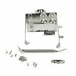 Kentrol Battery Tray w/support arm Polished Stainless Steel, Jeep CJ 1976-86