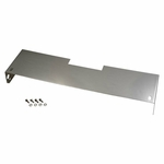 Kentrol Frame Cover 410 Polished Stainless Steel, Jeep CJ 1972-86