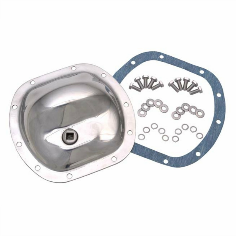Kentrol  [ 304M30 ] Front Differential Cover Polished Stainless Steel, Jeep CJ 1945-86
