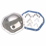 Kentrol Front & Rear Differential Cover Model 44 Polished Stainless Steel, Jeep CJ 1945-75, CJ7 1986