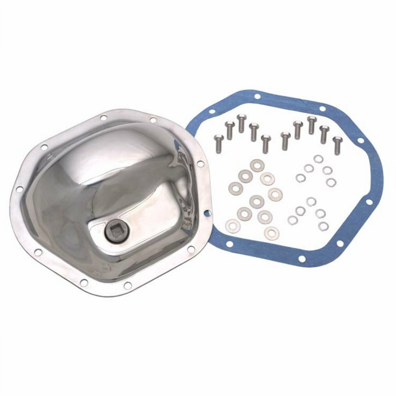 Kentrol  [ 304M44 ] Front & Rear Differential Cover Model 44 Polished Stainless Steel, Jeep CJ 1945-75, CJ7 1986