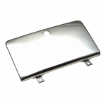 Kentrol Glove Box Door Polished Stainless Steel, Jeep CJ 1972-86