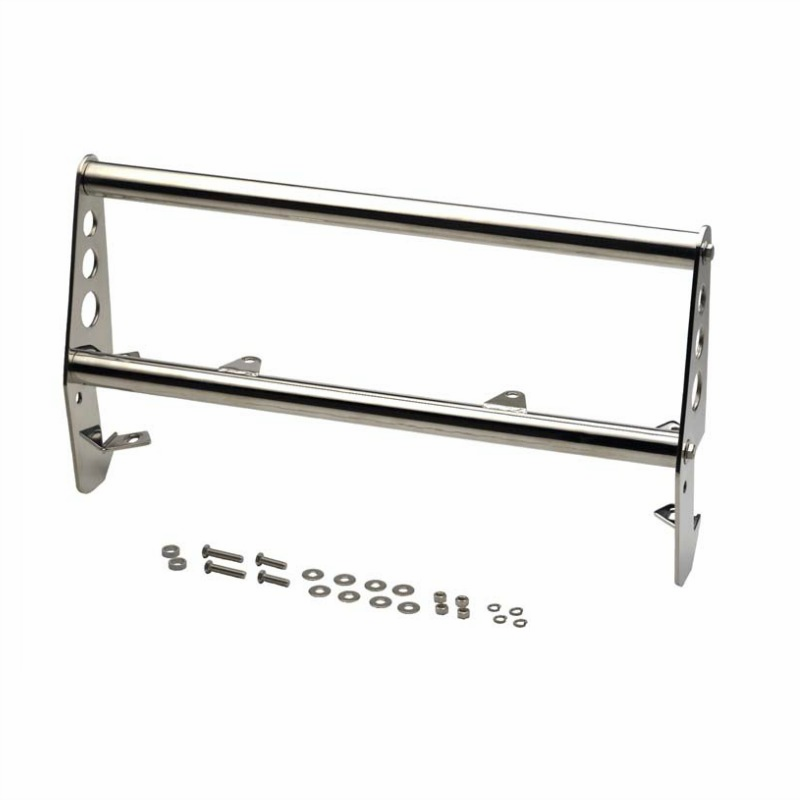 Kentrol  [ 30418 ] Grill Guard  Polished Stainless Steel, Jeep CJ 1955-86