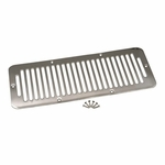 Kentrol Hood Vent Polished Stainless Steel, Jeep CJ 1978-86