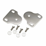 Kentrol Interior Windshield Bracket Set Polished Stainless Steel, Jeep CJ & Wrangler YJ 1976-95