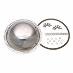 Kentrol Rear Differential Cover  Polished Stainless Steel, Jeep CJ 1976-86