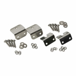 Kentrol Strut Rod Mounting Brackets, 4 pieces, (fiberglass) Polished Stainless Steel, Jeep CJ 1972-86
