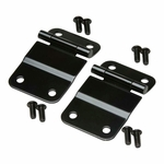 Kentrol Tailgate Hinge Set Black Powder Coated Stainless, Jeep CJ7 1976-86