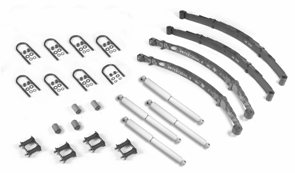 Master suspension rebuilders kit, fits Jeep CJ5 1976-1981, CJ7 1976-1981, CJ8 1981