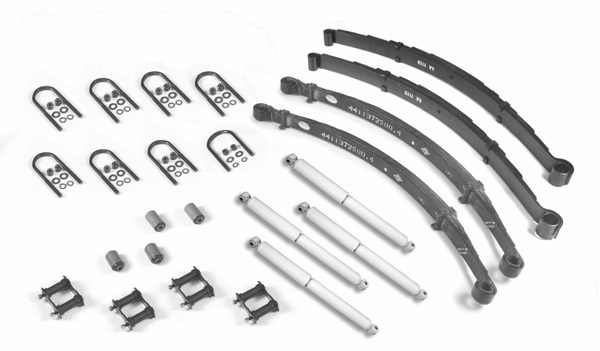 Master suspension rebuilders kit, fits Jeep CJ5 1982-1983, CJ7 1982-1986, CJ8 1982-1986
