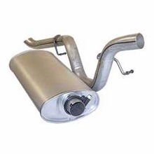 Muffler assembly,�5.0l (304 V8), 1979-81 Jeep CJ, includes tailpipe ���������������������